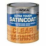 Ronseal Ultra Tough Satincoat Clear 2.5Ltr