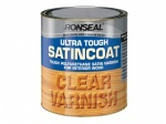 Ronseal Ultra Tough Satincoat Clear 250ml