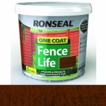 DISCONTINUED - Ronseal Oc Fencelife Medium Oak 4Ltr+25% Extra (Replaced by 38289)