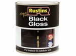 Rustin Black Gloss Paint 250ml