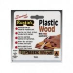 Rustin Plastic Wood Tube Natural
