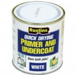 Rustins Q/D Primer & Under Coat White 250ml