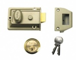 Yale Traditional Nightlatch P77 60mm Pb (P-77-ENB-PB-60)
