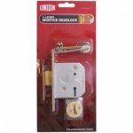 Union 3L Dead Lock Brass 65mm (Y-2177-PB-2.50)