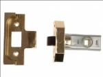 Union Rebated Tublar Latch Brass 80mm (Y-2650-EB-3.00)