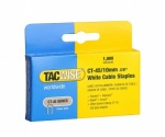 Tacwise CT 45/10mm DP White Cable Staples Box of 1000 (0353)