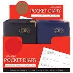 Pocket Diary, Week to View, Value range in CD box of 30
