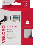Velcro Stick On Tape 20mm X 2.5m White (EC60214)
