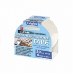 Sylglas Clear Weatherproofing Tape 6m X 50mm