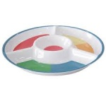 MELAMINE CHIP AND DIP TRAY RD
