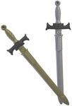 Sword Broad Gold/Silver 66cm