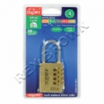 Squire Combination Brass Padlock 30mm