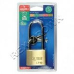 Squire Brass Padlock Leopard Long Shackle 30mm