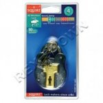 Squire 4L All Weather Galv. Steel Padlock 38mm