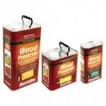 S/B Wood Preserver Light Brown 1Ltr