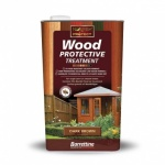 S/B Wood Preserver Dark Brown 1Ltr
