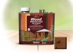 S/B Wood Preserver Dark Brown 2.5Ltr