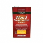 S/B Wood Preserver Dark Brown 5Ltr
