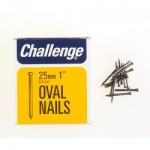 Challenge Oval Nails 25mm