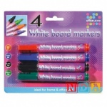 4 White Board Markers