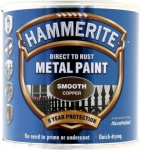 Hammerite Smooth Copper Paint 250ml