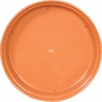 WHITEFURZE SAUCER FOR 12.5 IN POT TERRACOTTA