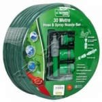 30m Garden Hose With Fittings