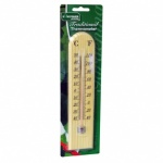 Kingfisher Garden Thermometer - Wooden [GSTH02]
