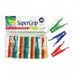 SUPERGRIP PLASTIC PEG PK32