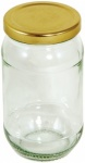 Tala Rnd Pres Jar + Gold Screw Lid 454G/16Oz