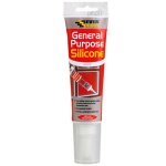 Everbuild Easi Squeeze G/P Silicon Sealant 80ml White