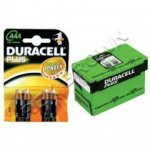 Duracell Plus Power AAA PK4 Batteries Box (MN2400 PLUS)