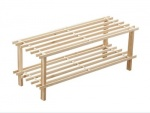 Wood Shoe Rack 2 Tier