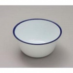 Falcon Enamel 16cm Pudding Basin Traditional White