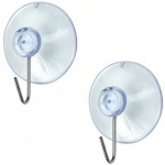 Suction Hooks 19mm Clear PK25