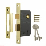 Era 3L Mortice Sashlock Brass 21/2'' Boxed