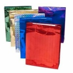 Holographic Medium Gift Bag - Pack of 12