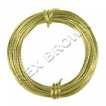 12kg Brass Picture Wire 3.5m - Bulk Pack 10pcs