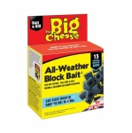 STV Big Cheese All-Weather Mouse & rat Block Bait 15 x 10g (STV212 ) (Replaced STV112)