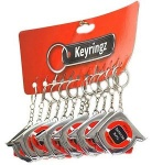 Tape Measure Key Rings  - Pack of 12