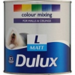 Dulux Colour Mixing V/matt Light BS 1Ltr