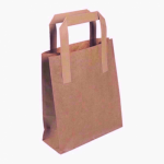 Brown Takeaway Bags/Handle 10x15.5x12