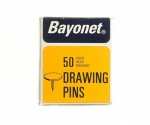 Bayonet Drawing Pins 10mm
