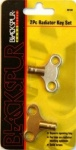 2pc Radiator Key Set