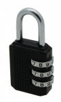 ZB35 30mm Tri-Circle Combination Padlock