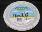 15pcs Large Disposable Plates