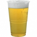 Royal Markets Clear Plastic Half Pint Cups Pk50