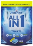 Astonish Dishwasher Tablets All In 1 - Lemon Fresh 42 Tabs  WAS C2180
