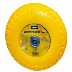 Rolson Tools Ltd 10'' Rubber Tyre No Tube Yellow 42508
