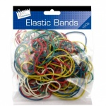 Coloured elastic Bands 100gm (09.06.2018)